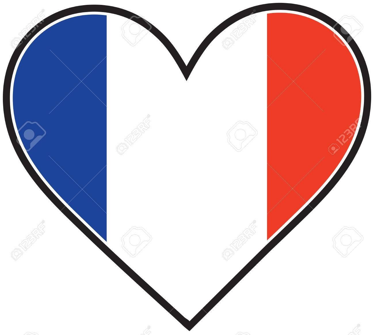 1300x1165 Hand Drawn Watercolor France Flag Royalty Free Vector Clip Art