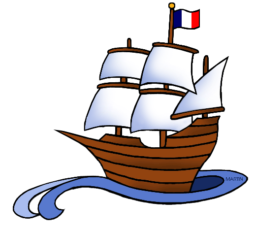 518x467 Explorers Clip Art By Phillip Martin, French Ship
