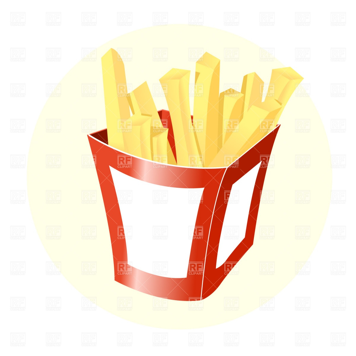 1200x1200 Clipart French Fries