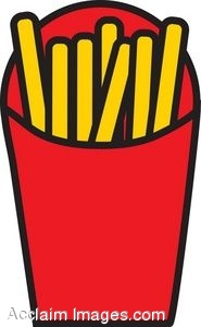 185x300 Clipart Of An Order Of French Fries