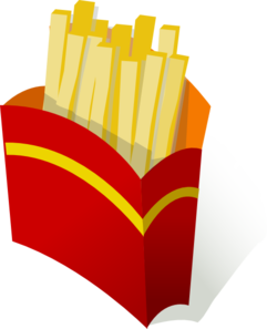 241x297 French Fries Clip Art