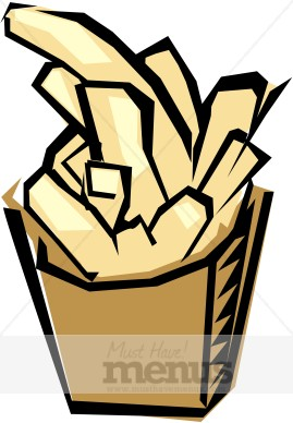 269x388 French Fries Clipart Fast Food Clipart