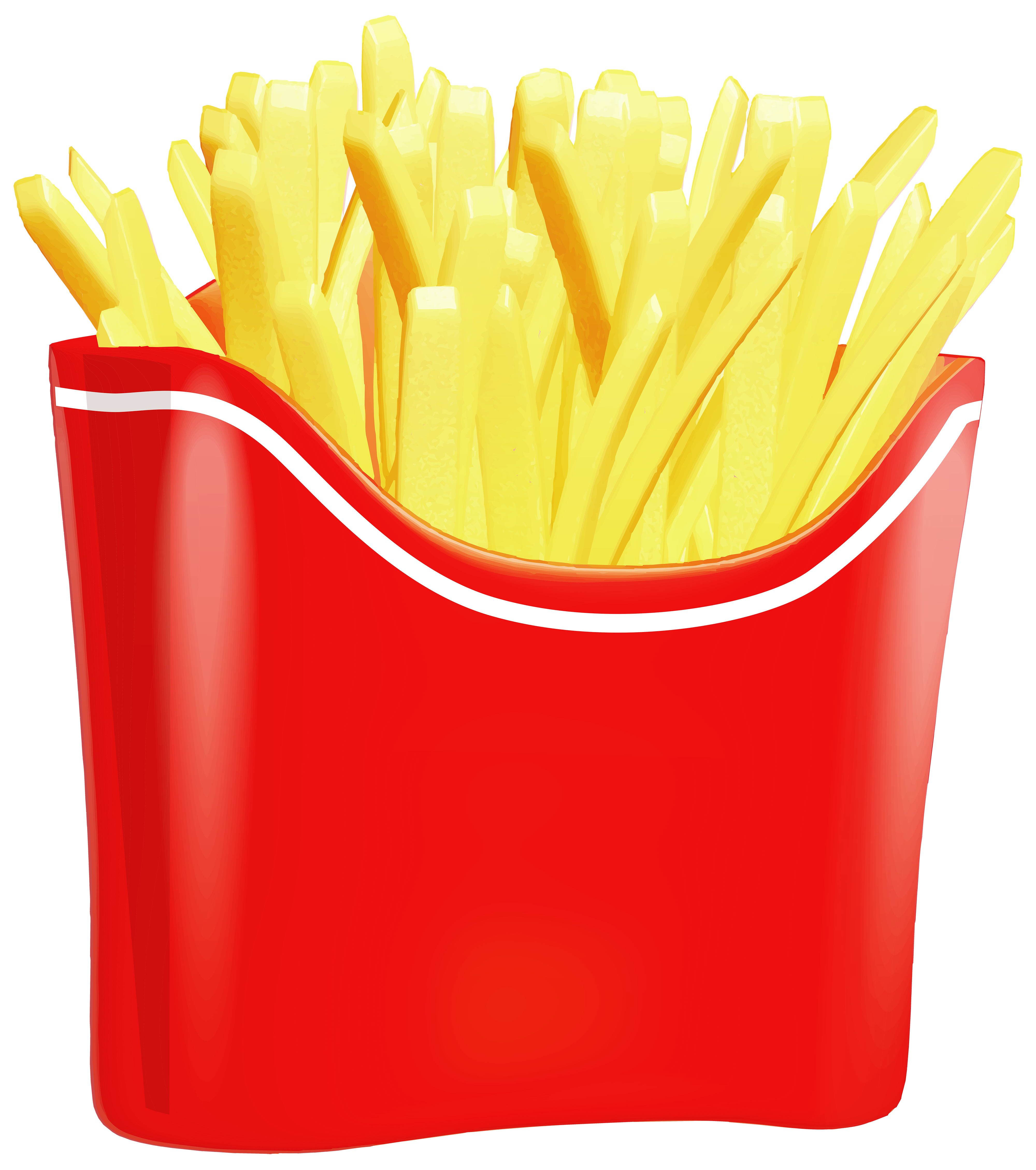 4000x4517 French Fries Png Clip Art