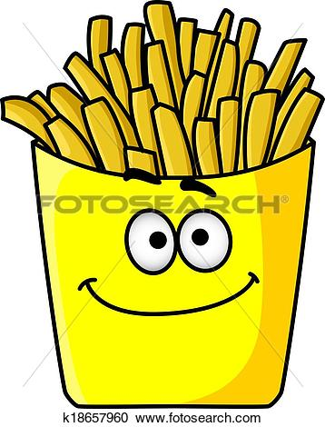 358x470 French Fries Clipart Golden