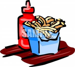 300x269 French Fries Clipart Ketchup