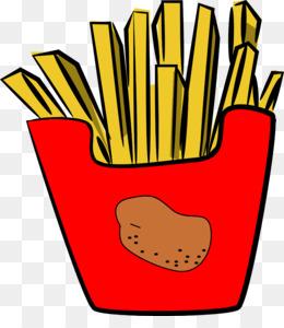 260x300 French Fries Hamburger Fast Food Junk Food Clip Art