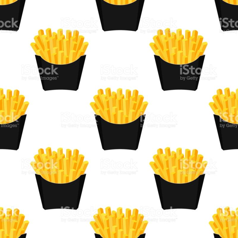 800x800 French Fries Clipart