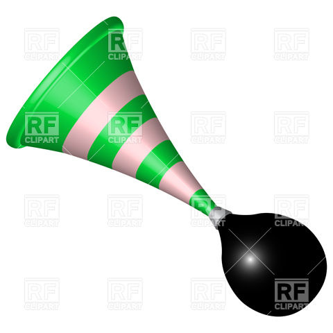 480x480 Bicycle Horn Royalty Free Vector Clip Art Image