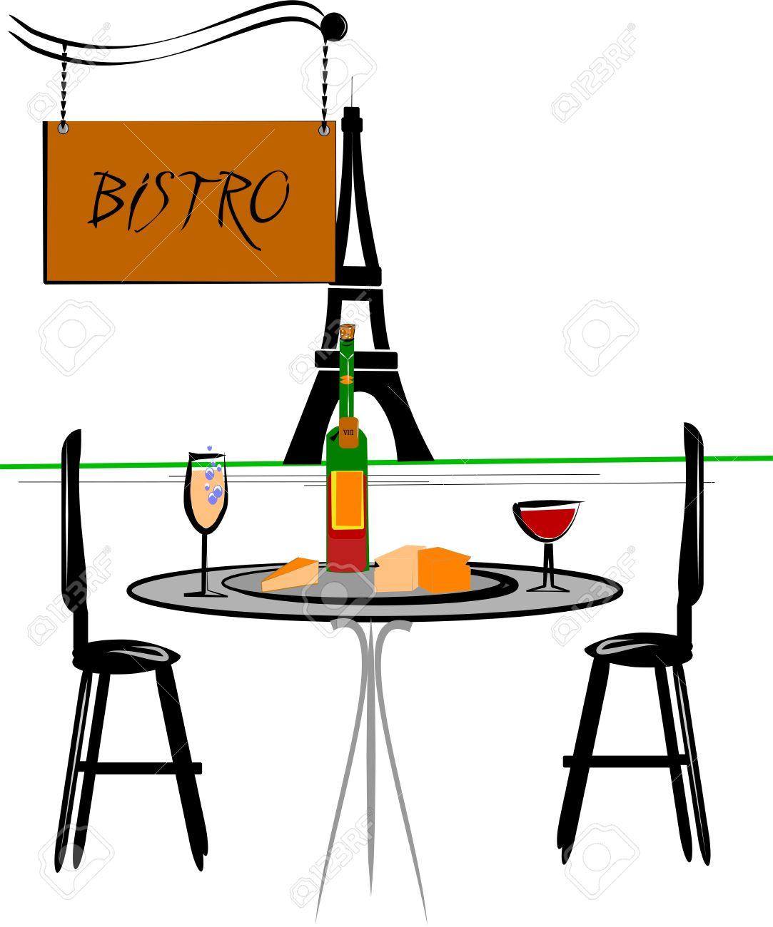 1083x1300 Paris Bistro Clipart