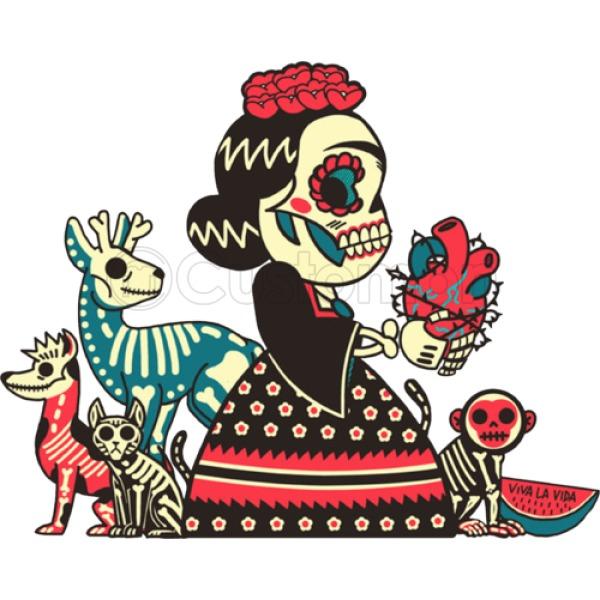 600x600 Frida Kahlo Viva La Vida Thong