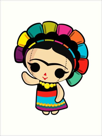 413x549 Mexican Drip Wrist Frida Kahlo Art Prints By Edleon Redbubble