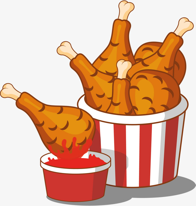 fried chicken clipart at getdrawingscom free for