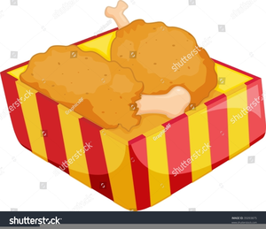 300x259 Fried Chicken Wings Clipart Free Images