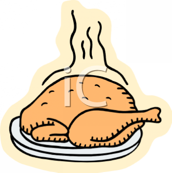 348x350 Royalty Free Chicken Clip Art, Food Clipart