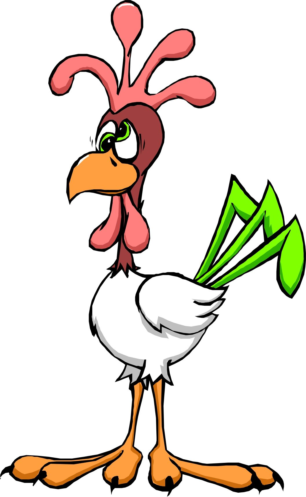 1057x1717 Clipart Of Chicken Little Images On Page 0 Yanhe Clip Art