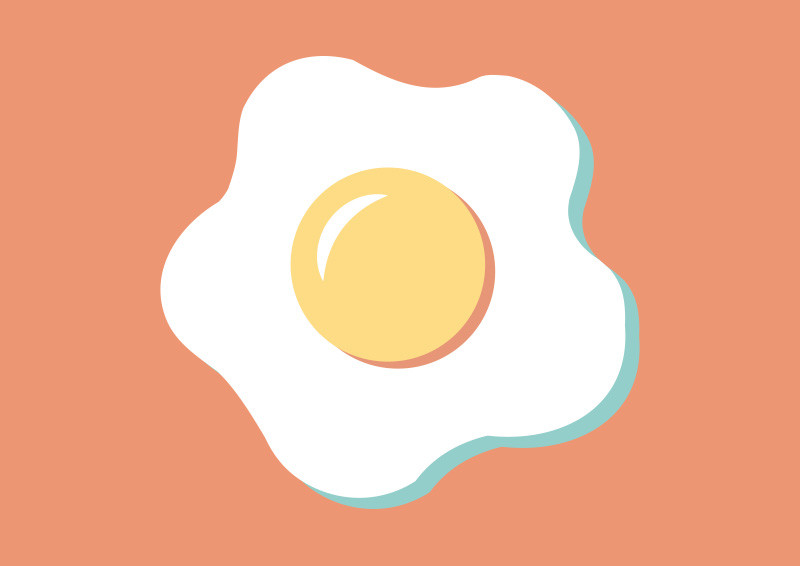 800x566 Fried Egg Clipart Fied