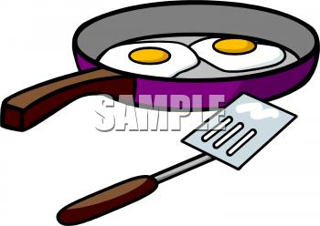 350x248 Fried Egg Clipart Hot Frying Pan