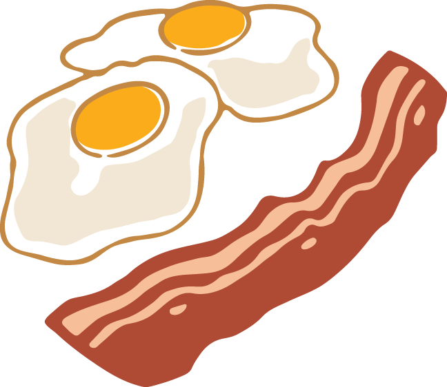 648x562 574 Bacon Amp Eggs Egg Clipart Images And Vector