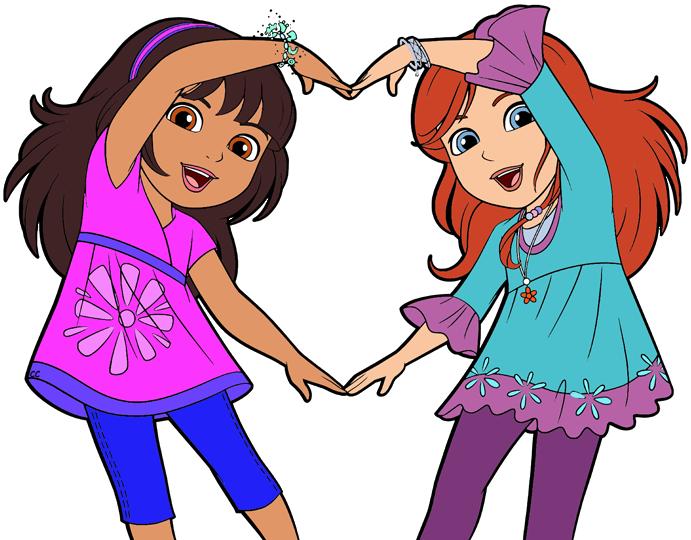 691x540 Dora And Friends Clipart Images Cartoon Clip Art