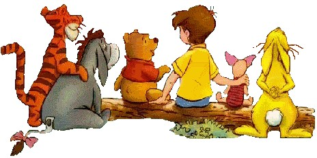 464x231 Pooh And Friends Clipart Clipart Panda