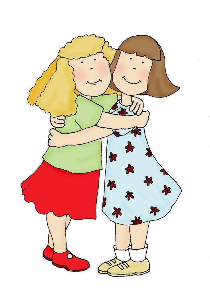 736x1010 Clipart Hugs Friends Free Cliparts Friendship Hugs Download Free