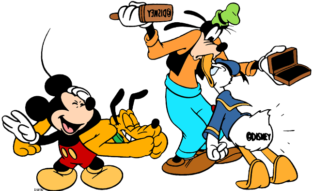 646x395 Mickey Mouse And Friends Clip Art 2 Disney Clip Art Galore