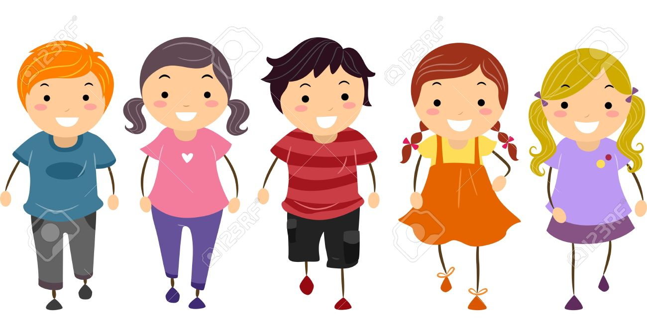 1300x658 Kids Walking Clipart