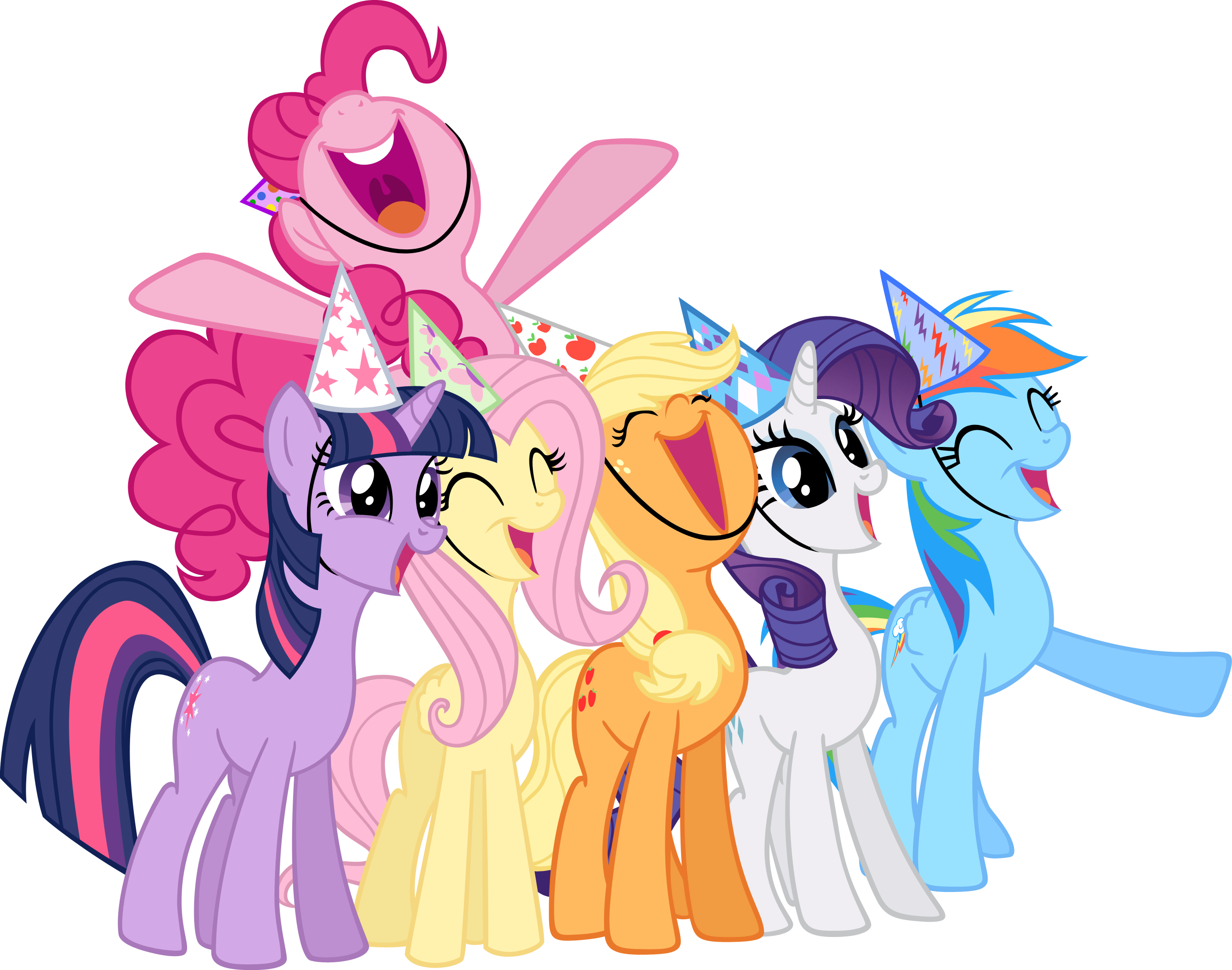 2576x2027 Birthday Clipart My Little Pony
