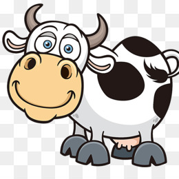 260x260 Holstein Friesian Cattle Animation Dairy Cattle Clip Art