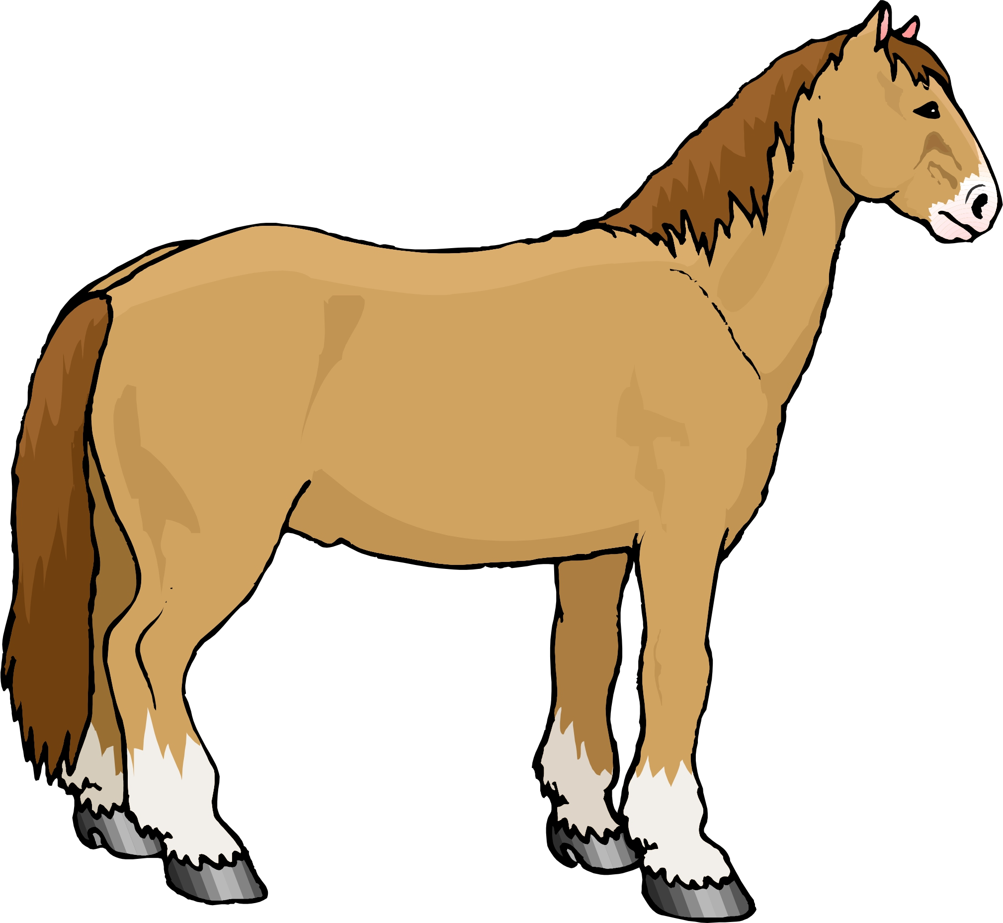 2018x1856 Cartoon Pics Of Horses 101 Clip Art