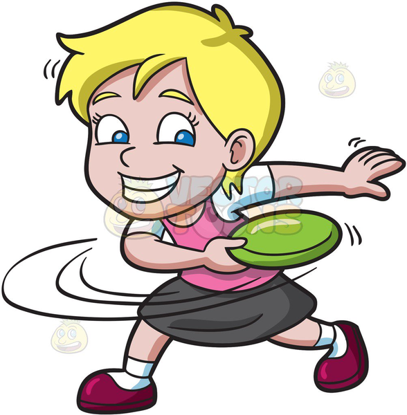 588x600 Flying Frisbee Clipart Free Images