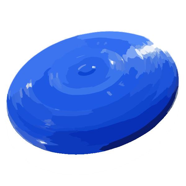 600x600 Frisbee No Background Color Clip Art
