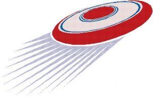 300x191 Ultimate Frisbee Disc Clip Art Frisbee Clip Art Vetor Tis