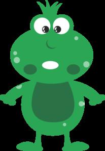 207x296 Green Frog Cartoon Png, Svg Clip Art For Web