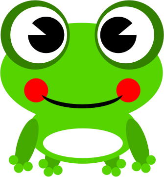 335x361 Image Of Cute Frog Clipart