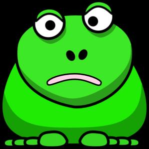 298x297 Cartoon Frog Clip Art