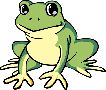 432x368 Cartoon Frog Pictures A Cartoon Frog Free Download Clip Art Free