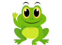 210x153 Cute Frog Clipart Group