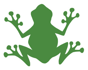300x238 Free Silhouette Clipart Image 0521 1101 1912 4608 Frog Clipart