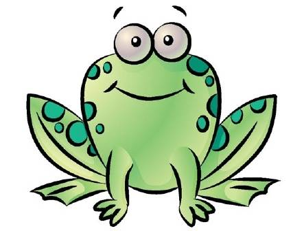 443x336 Free Animated Frog Clipart