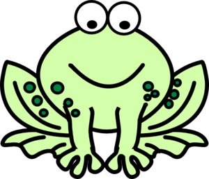 300x258 Free Cute Frog Clip Art Clipart Images