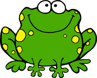 400x320 Frog Clipart Clipartaz Free Clipart Collection