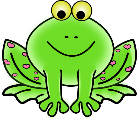460x400 Frog Clip Art For Kids Clipart Panda