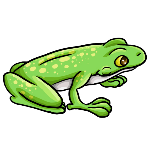 500x500 14 Free Frog Clip Art Drawings And Colorful Images