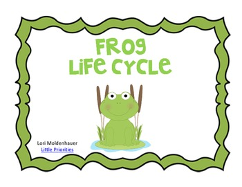 350x270 Frog Life Cycle By Little Priorities Teachers Pay Teachers