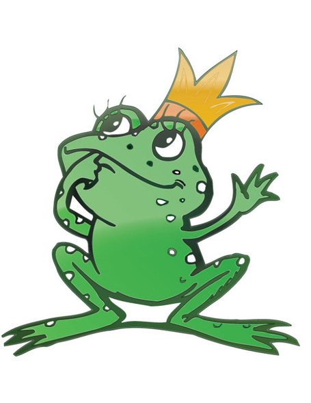 455x589 Free Cartoon Frog Prince Clipart And Vector Graphics