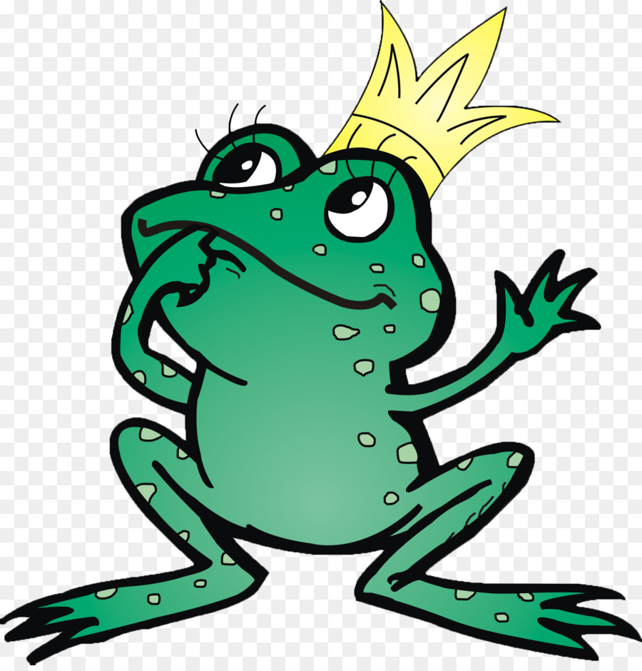900x940 The Frog Prince Clip Art