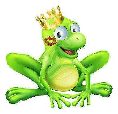 400x389 Cartoon Frog Frog Prince Cartoon