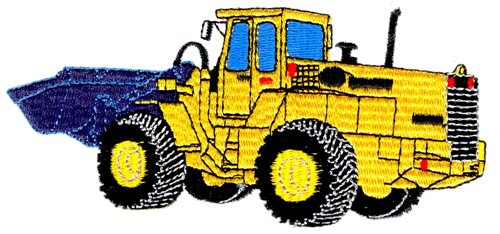 500x234 Front End Loader Embroidery Designs, Machine Embroidery Designs