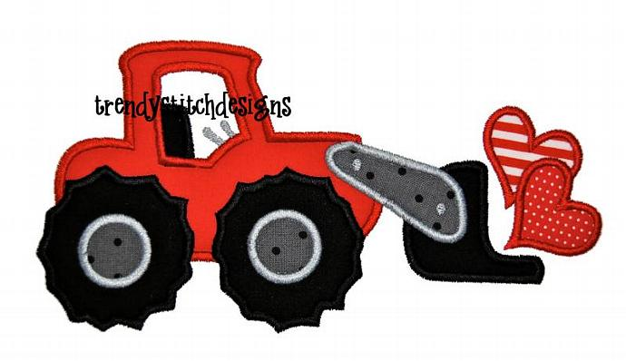 690x398 Front End Loader Hearts Applique By Trendystitchdesigns On Zibbet